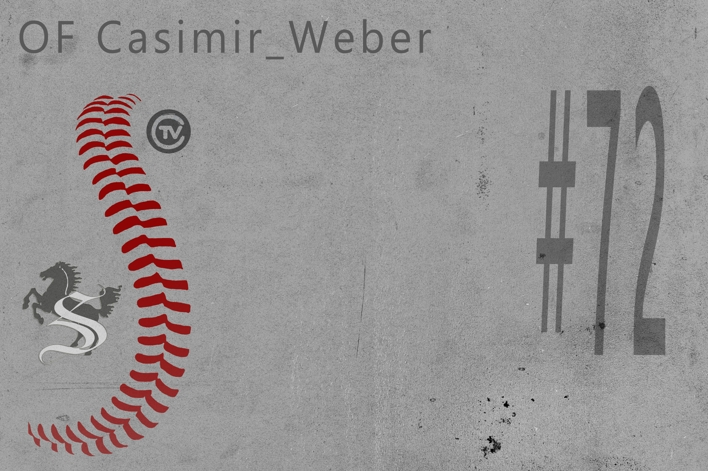 JUN Casimir Weber #72 OF